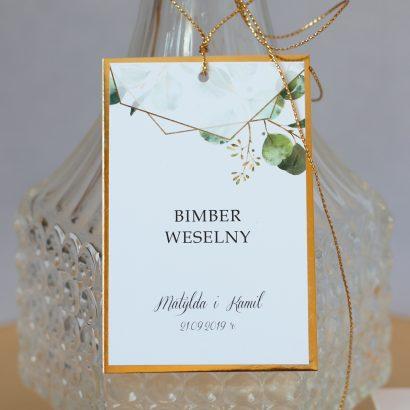 Zawieszki na wódkę weselną, nalewki, bimber ZPR 4010